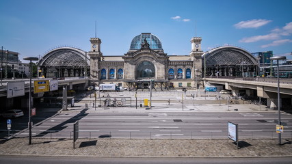 Dresden Main Station Hyperlapse
