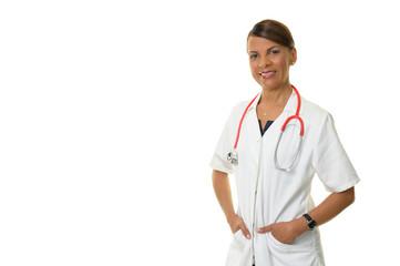 Portrait einer südeuropäischen Ärztin