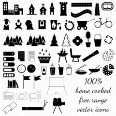 Various things icons