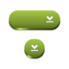 The set of two green download buttons
