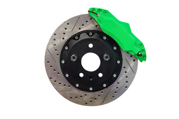 Brake disc isolated