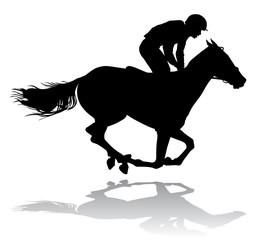 jockey on horse 5