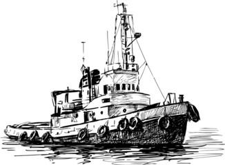 industrial boat