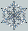 Royal pattern design element