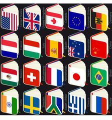 book flags popular