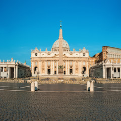 Roma, San Pietro cathedral at Vatican