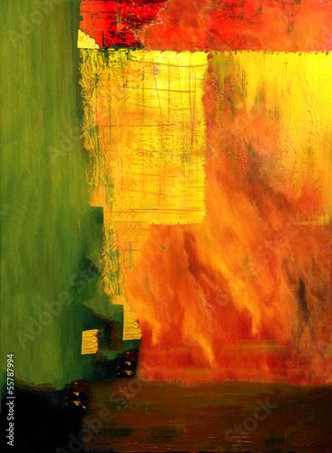 Leinwandbild Motiv Oil painting