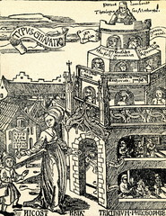 Allegory of Grammar (woodcut, 1504)
