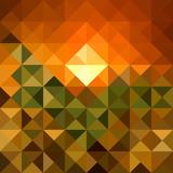 Autumn season triangle seamless pattern background. EPS10 file.