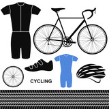 Cycling. Set