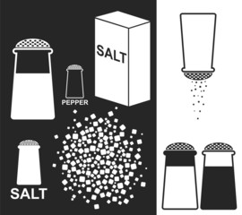 Salt. Pepper