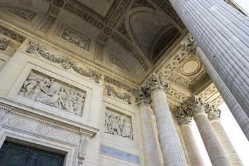 bas relief, Pantheon, Paris, France