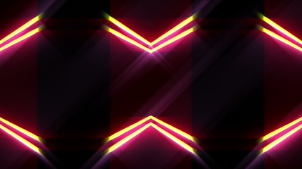 Abstract lines and light, futuristic waves digital background,