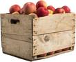 crate full of apples