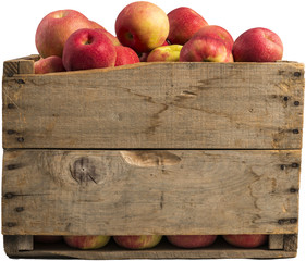 crate full of apples