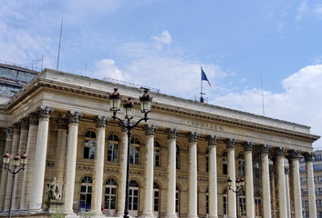 Palais de la Bourse, Paris.