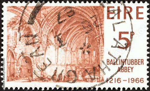 Interior of Ballintubber Abbey (Ireland 1966)