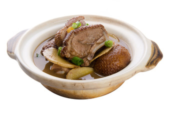 duck. Chinese stew duck asia food