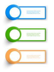 Vector Collection Web Banner. design and color