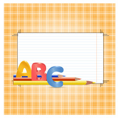 ABC Frame for text