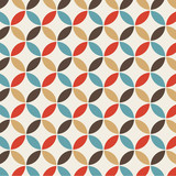 Seamless pattern background retro vintage