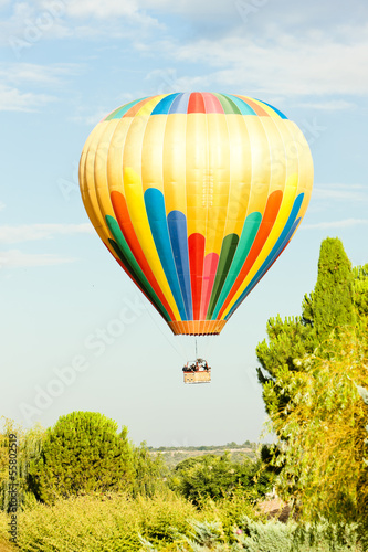 hot air balloon, Provence, France