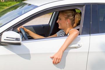 Spaß beim Autofahren
