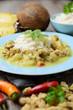 Cocos-Curry mit Sojafleisch