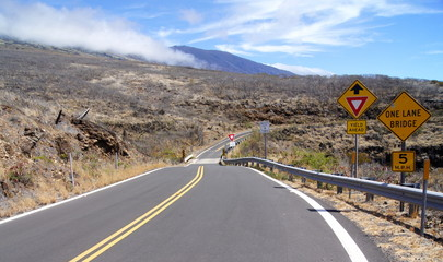 Strasse auf Maui,Hawaii