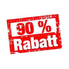 90% Rabatt