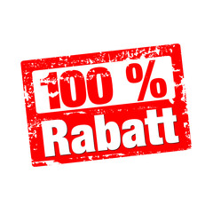 100% Rabatt