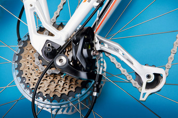 Mountain bike detail