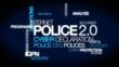 Police 2.0 cyber sécurité gendarmerie nuage de mots animation