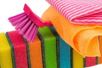 Haushalt Utensilien zum putzen