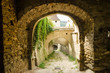 Stone Corridor To An Ancient Castle Dungeon - 55817150