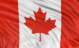 3D Canada Flag  (clipping path included)