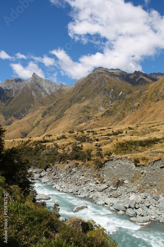 New Zealand - Mount Aspiring national park