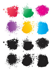 Vector Color Spots