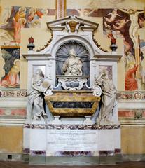 Galileo Galilei's Tomb. Basilica of Santa Croce. Florence, Italy