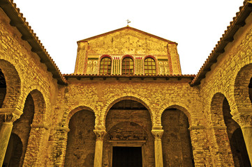 Porec (Parenzo), Basilica Eufrasiana - Croazia