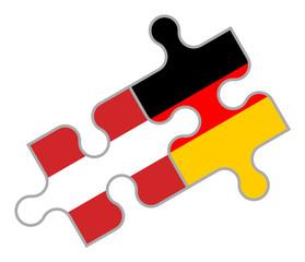 Puzzle: Österreich - Deutschland