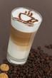 Latte Macciato Glas