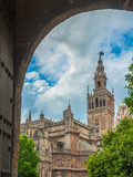 Seville Cathedral and Giralda bell tower, Spain