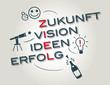 Zukunft Ziele Vision