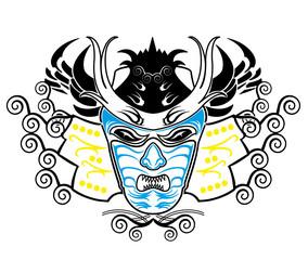 Samurai Maske