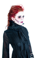 Victorian Young Woman Redhead Ghost