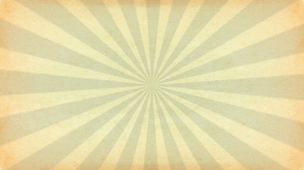 Vintage rays. Motion graphics