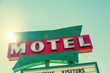 South West Route 66 motel sign