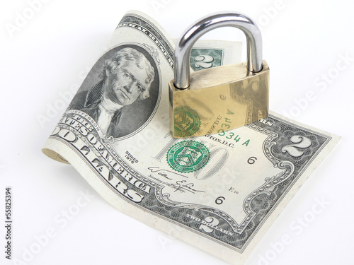 locked, security, money