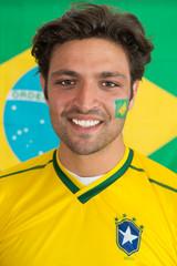 Confident Brazilian man